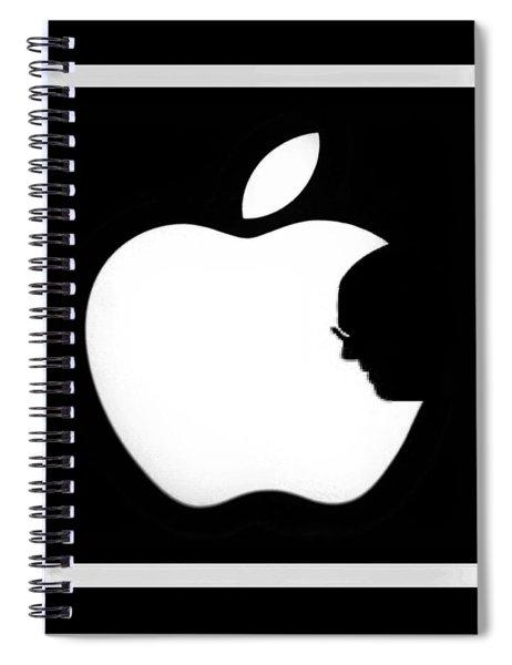 Steve Jobs Apple Spiral Notebook