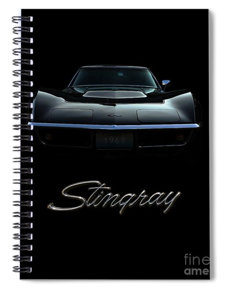 Stingray Spiral Notebook
