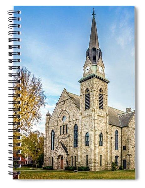 Stone Chapel Fall Spiral Notebook