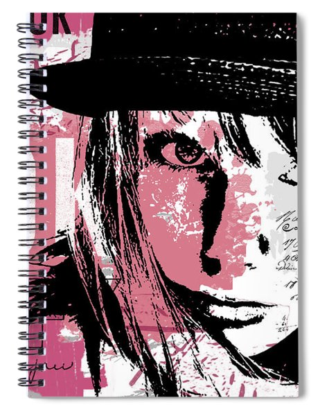 Stronger In Pink Spiral Notebook