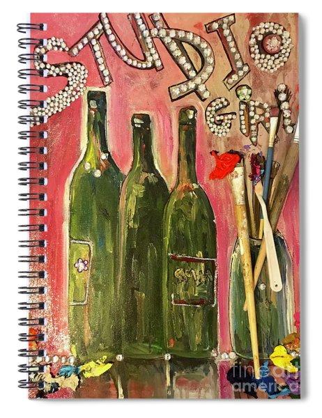 Studio Girl Spiral Notebook