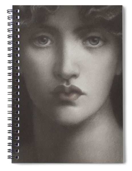 Study Of Jane Morris Spiral Notebook