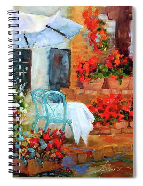 Sunny With A Light Breeze Spiral Notebook