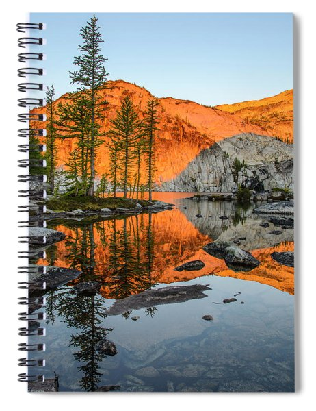 Sunrise In The Enchantments Spiral Notebook