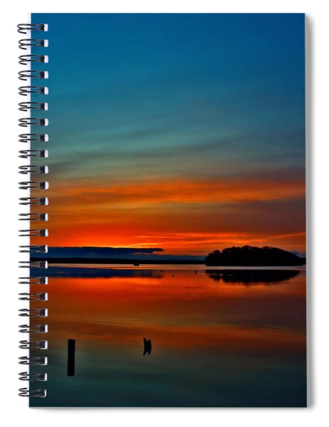 Sunrise Onset Pier Spiral Notebook