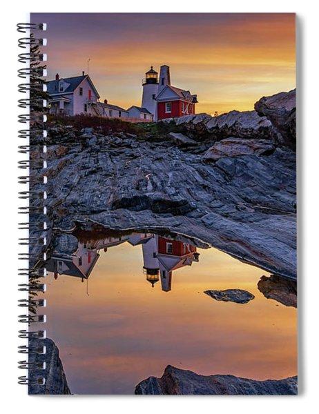 Sunrise At Pemaquid Point II Spiral Notebook