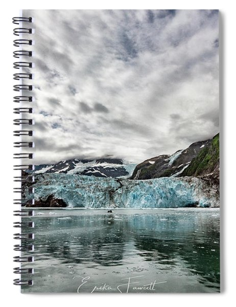 Surprise Glacier Spiral Notebook
