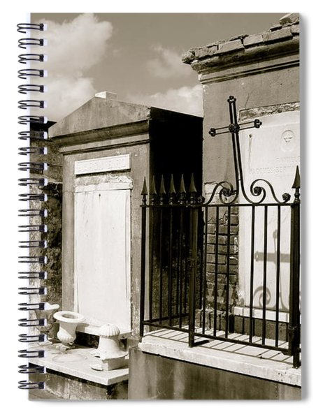 Surrounded By Loss Spiral Notebook
