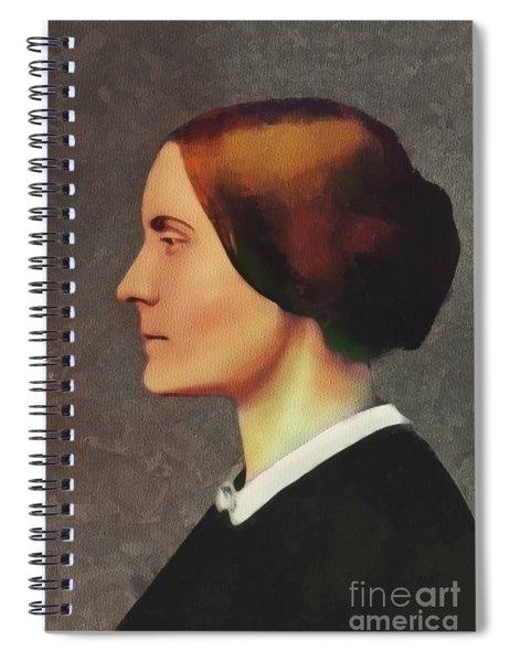 Susan B. Anthony, Suffragette Spiral Notebook