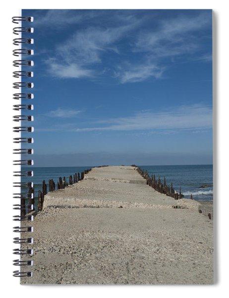 Tel Aviv Old Port 3 Spiral Notebook