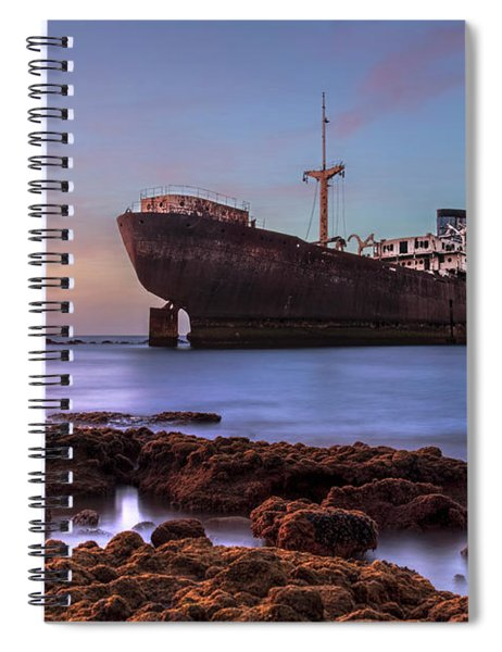 Temple Hall - Lanzarote Spiral Notebook