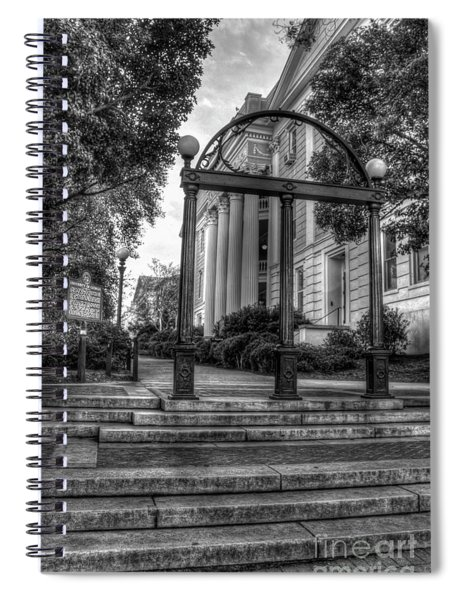 The Arch 5 University Of Georgia Arch Art Spiral Notebook