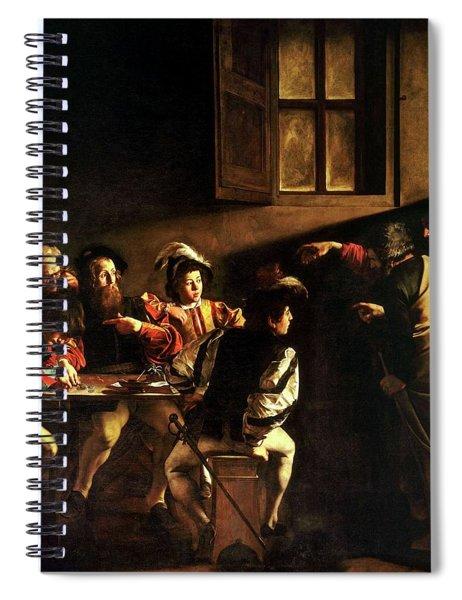 The Calling Of St. Matthew Spiral Notebook