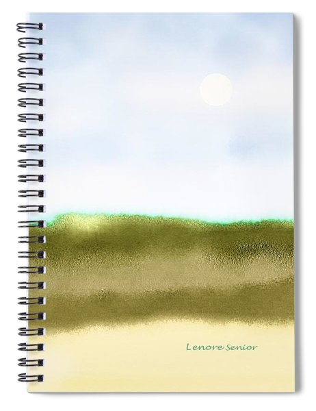 The Dunes Spiral Notebook