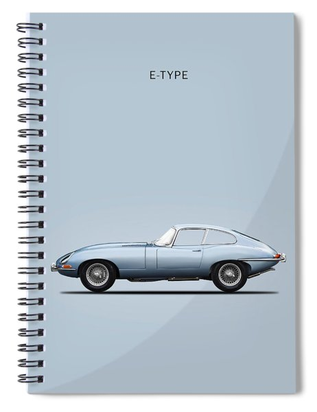 The E Type Spiral Notebook