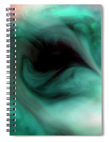 The Empty Eye Spiral Notebook
