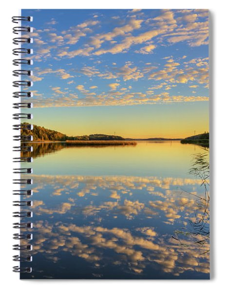 The Evening Light Spiral Notebook