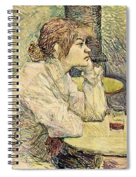 The Hangover Suzanne Valadon   Spiral Notebook