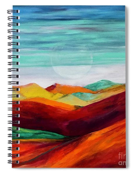 The Hills Are Alive Spiral Notebook