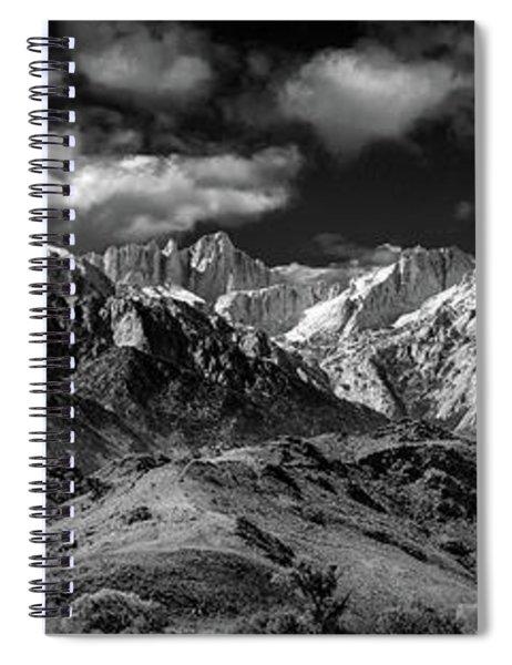 The Majestic Sierras Spiral Notebook