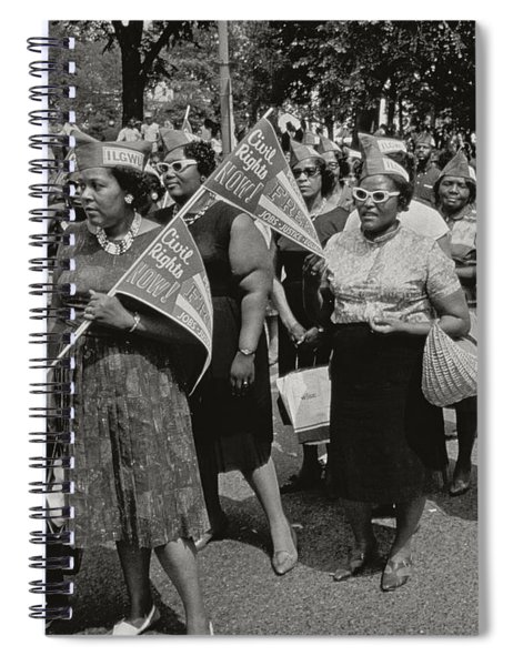The March On Washington Spiral Notebook