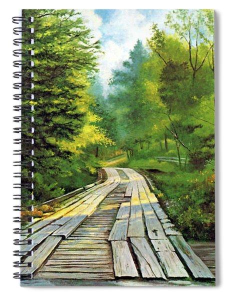 The Mcneely Bridge Spiral Notebook