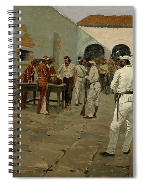 The Mier Expedition The Drawing Of The Black Bean Spiral Notebook