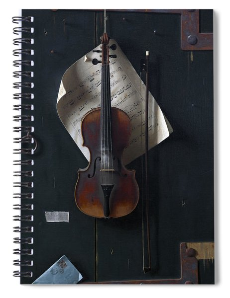 The Old Violin Spiral Notebook
