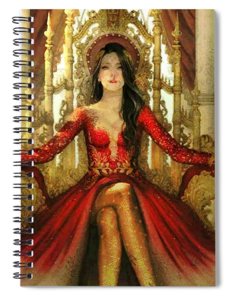 The Queen Of Westeros Spiral Notebook