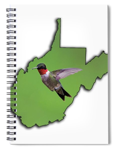 The Ruby-throated Hummingbird Spiral Notebook