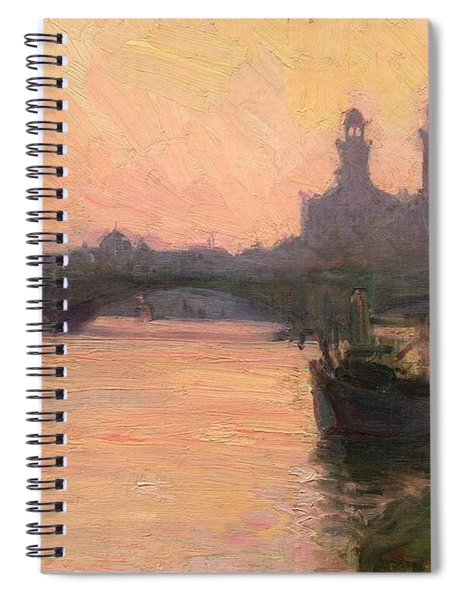 The Seine Spiral Notebook