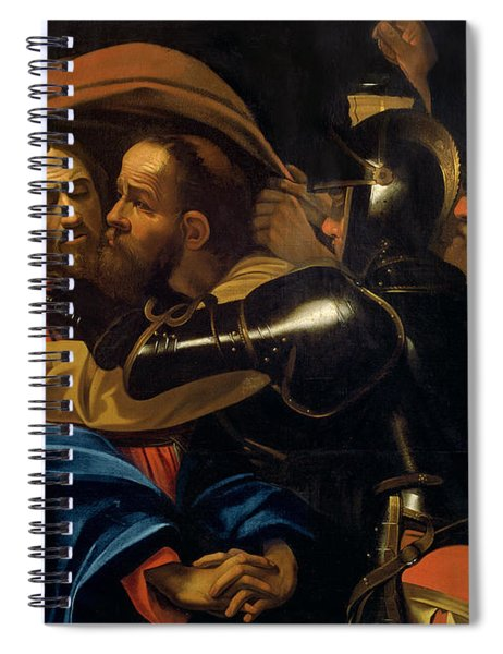 The Taking Of Christ Spiral Notebook