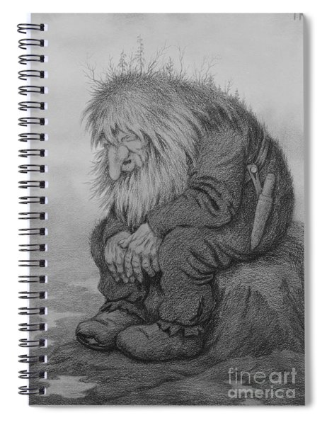 The Troll That Wonders How Old He Is Spiral Notebook