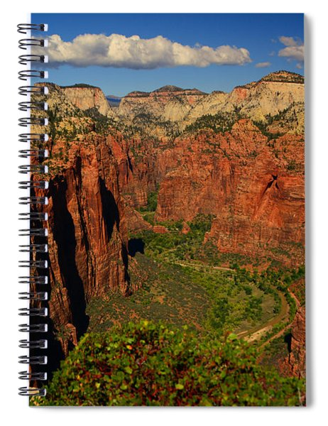 The Virgin River Spiral Notebook