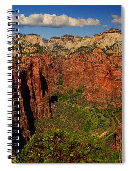 The Virgin River Spiral Notebook