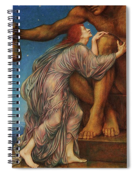 The Worship Of Mammon Spiral Notebook