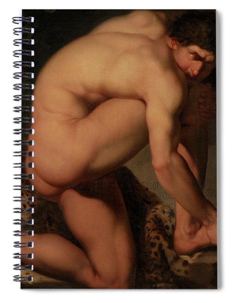 The Wounded Philoctetes Spiral Notebook