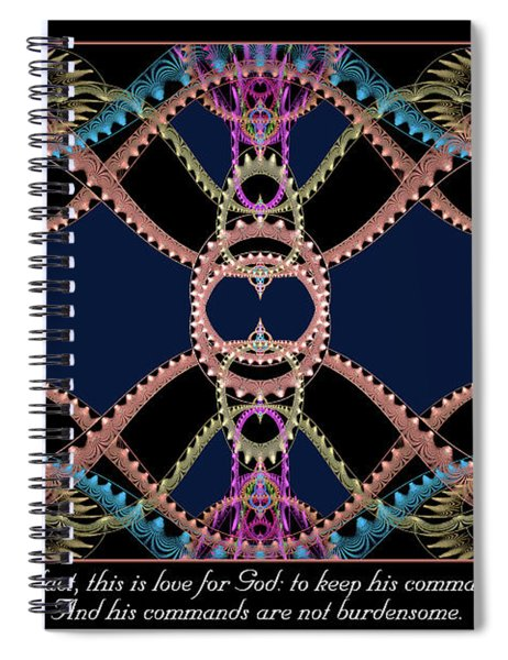 This Is Love Spiral Notebook