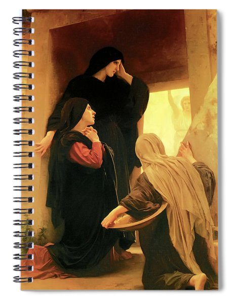 Three Marys At The Tomb Spiral Notebook