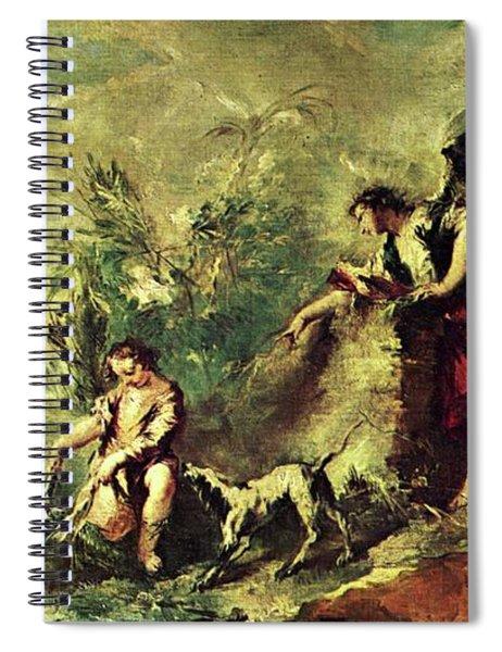 Tobias Fishing Spiral Notebook