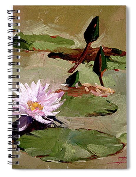 Tomorrow's Blooms- Water Lilies Spiral Notebook