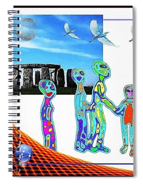 Tourists  Spiral Notebook
