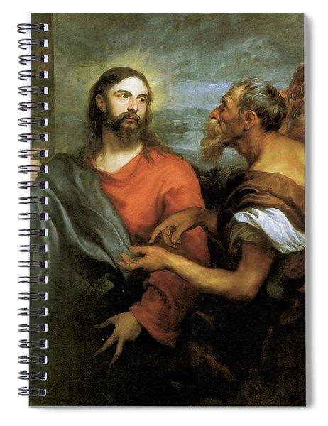 Tribute Money Spiral Notebook