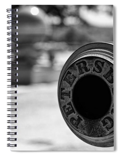 Trophy Point Cannon  Spiral Notebook
