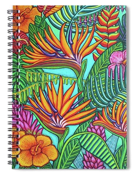 Tropical Gems Spiral Notebook