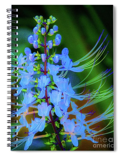 Tropical Plants And Flowers In Hawaii Spiral Notebook