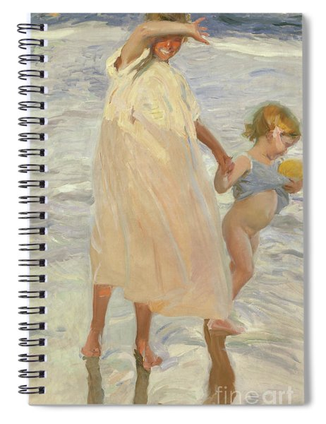 Two Sisters, Valencia Spiral Notebook