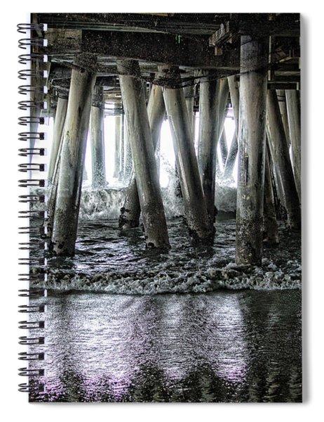 Under The Pier 2 Spiral Notebook