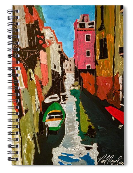 Unfinished Venice Italy  Spiral Notebook
