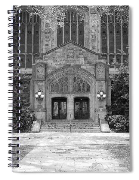 University Of Michigan Law Quad Spiral Notebook